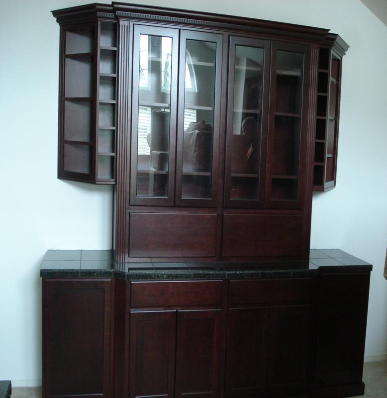 Built-in Cupboard and Sideboard